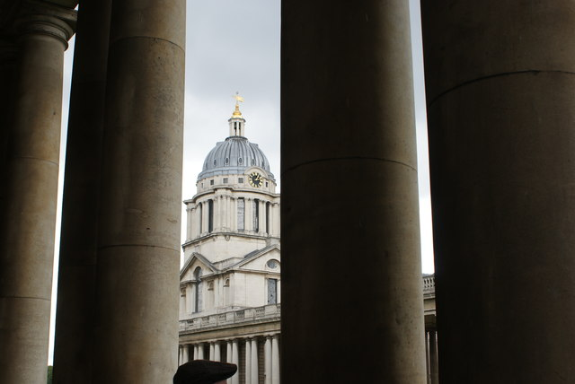 View of the Painted Hall from the grounds of the University of Greenwich #4