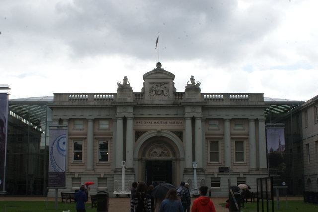 View of the National Maritime Museum from Greenwich Park #2