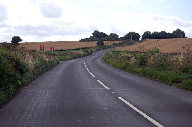 A3124 towards Beaford