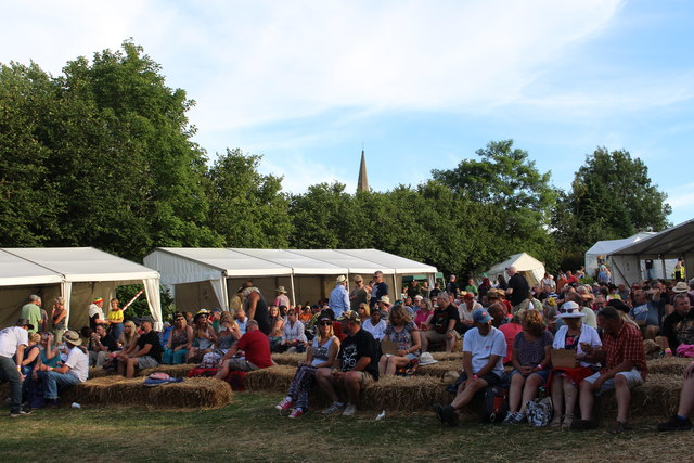 Audience at the 2017 Linton Festival