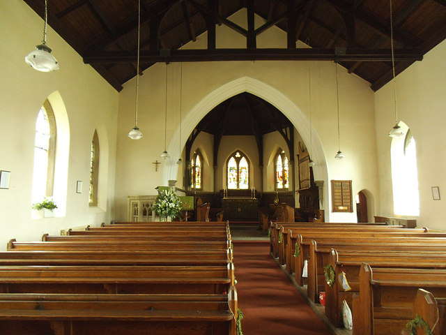 Church of the Epiphany, Austwick - interior