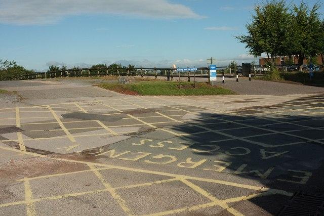 Car park, Torbay hospital