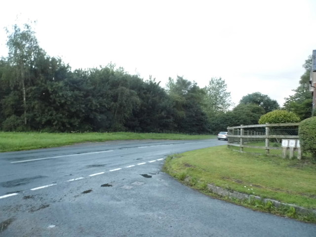 Junction on the B4192, Knighton
