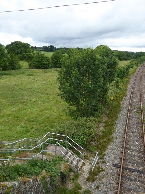 Emergency access to Tarka Line at Gunstone Mill