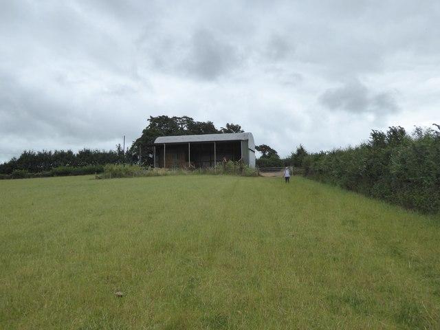 Barn near Gunstone