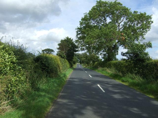 B6355 towards Chirnside