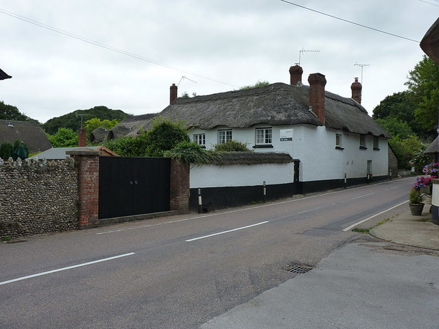 Bowd Court farmhouse
