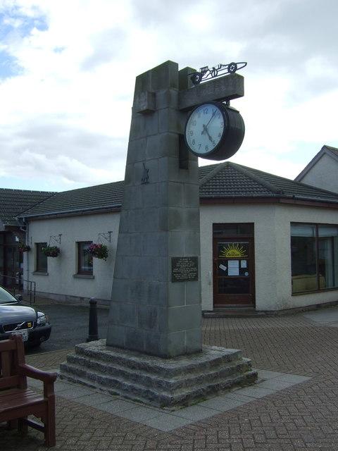 The Jim Clark Memorial at Chirnside