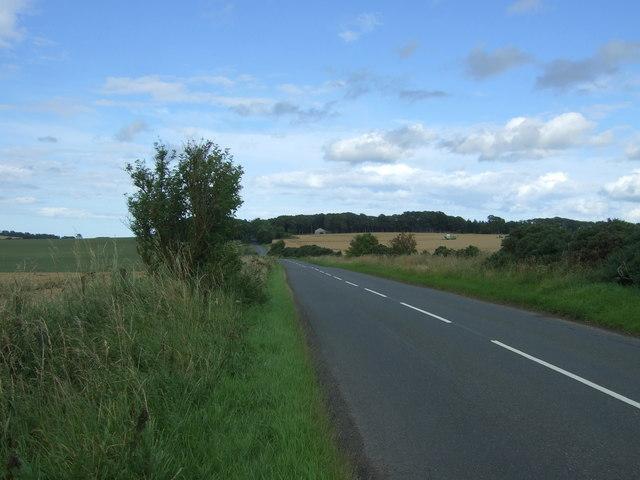 B6355 towards Ayton