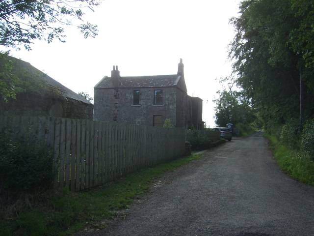 House and track, Kirkhill