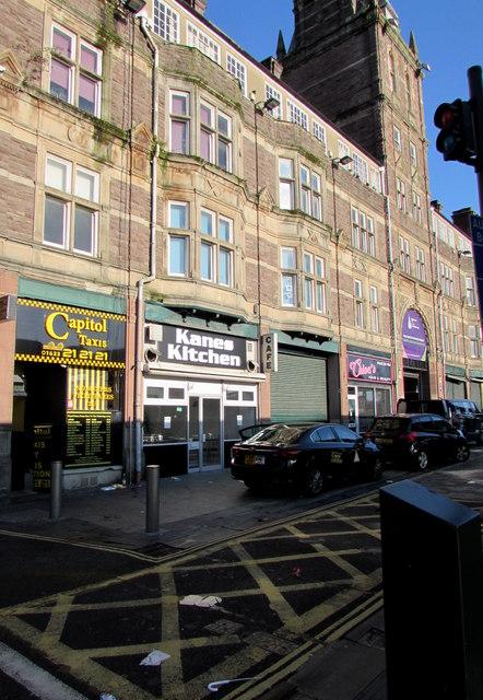 Kanes Kitchen, Upper Dock Street, Newport