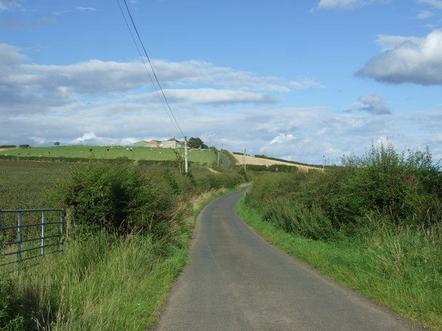 National Cycle Route 76 near Low Cocklaw