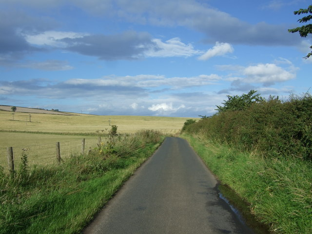 Heading north east on National Cycle Route 76
