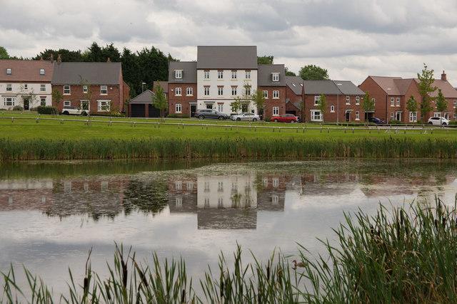 A housing estate near Cliftonthorpe, Ashby