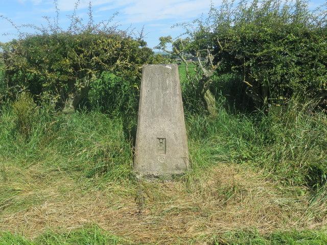 West Cairngillan trig point