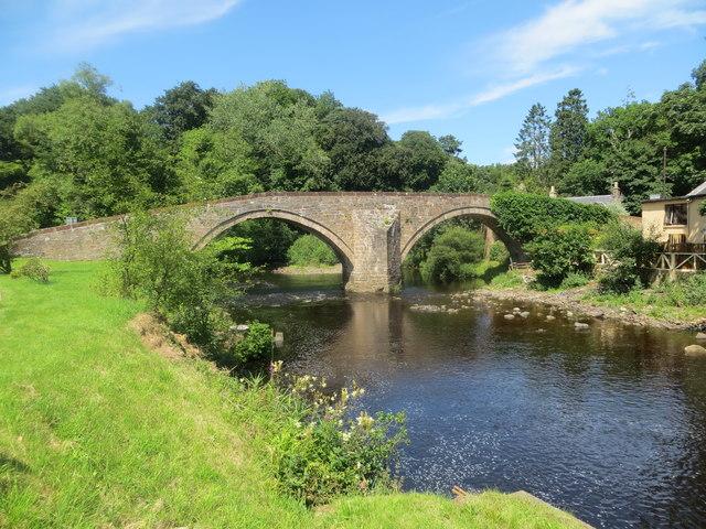 Bridge over the River Ayr at Sorn