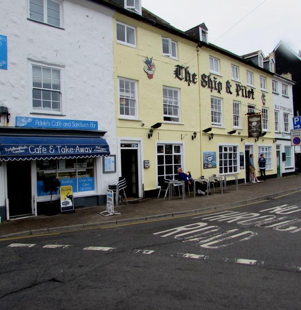 The Ship & Pilot pub, 10 Broad Street, Ilfracombe