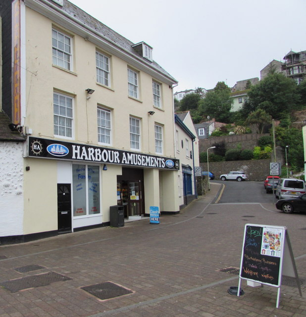 Harbour Amusements in Ilfracombe