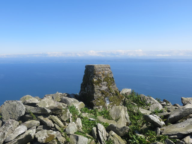 Triangulation Pillar on Ailsa Craig