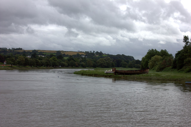 River Taw , looking south from Barnstaple