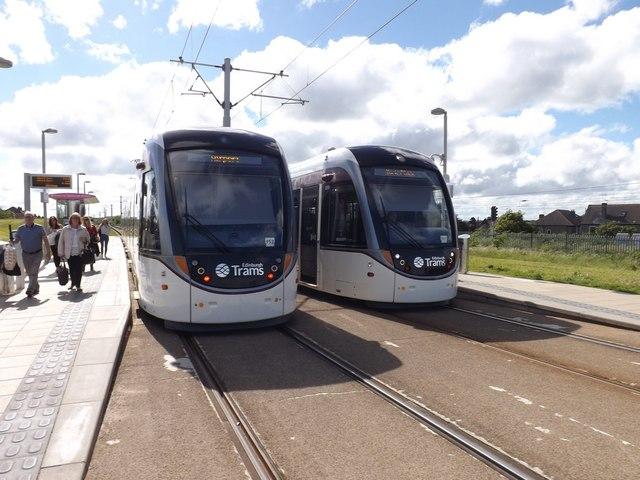 Saughton tram station