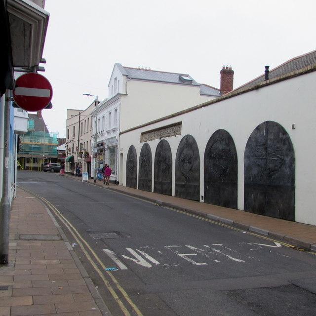 Broad Street towards The Quay, Ilfracombe