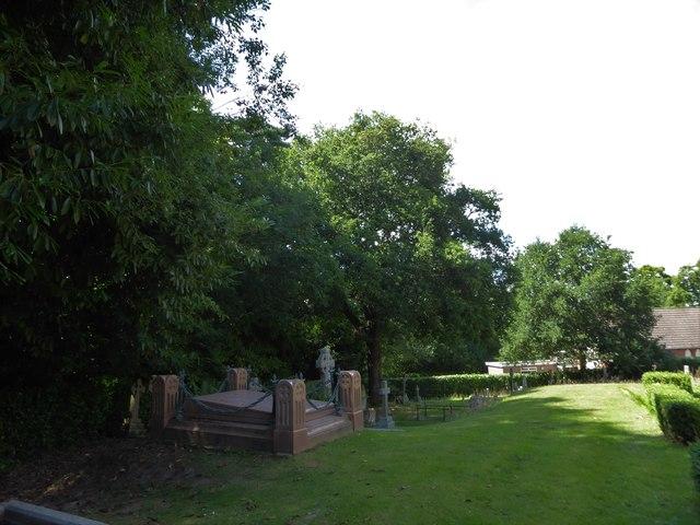 St Philip, Burwash Weald: churchyard (c)