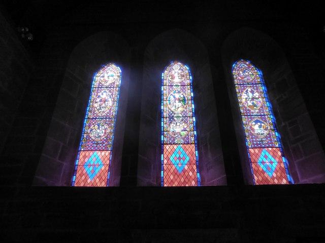 St Philip, Burwash Weald: stained glass window (B)