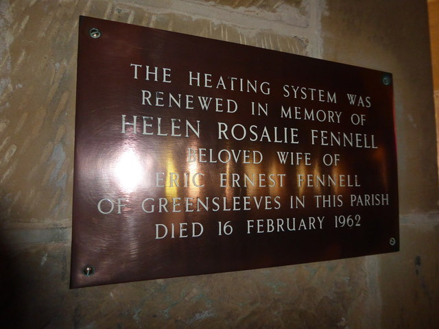 St Philip, Burwash Weald: memorial (4)
