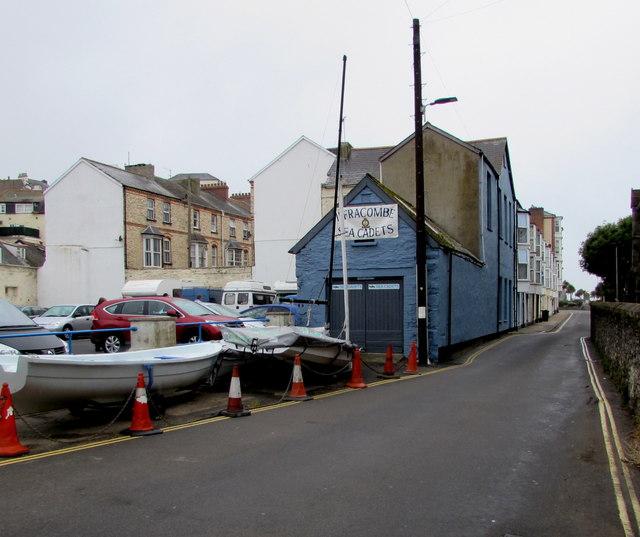 Ilfracombe Sea Cadets building, Ropery Road, Ilfracombe