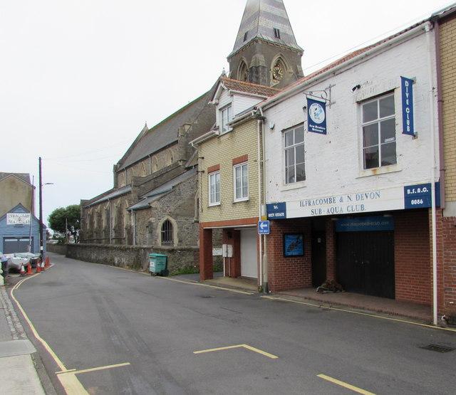 Ilfracombe & N. Devon Subaqua Club, Ilfracombe