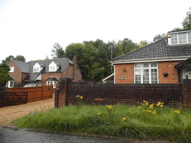 Houses on Baydon Road, Lambourn