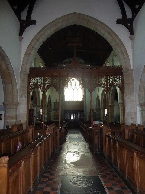 Inside St Mary, Ticehurst (d)