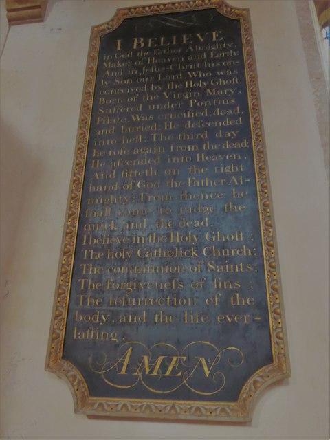 Inside St Mary, Ticehurst (g)