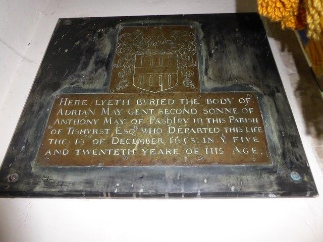 St Mary, Ticehurst: memorial (7)