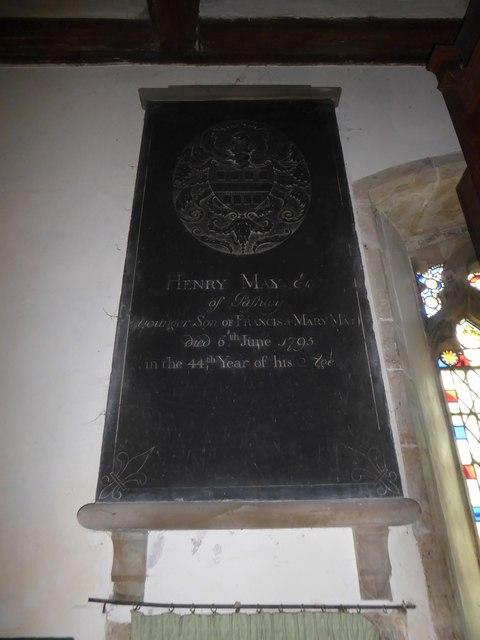 St Mary, Ticehurst: memorial (8)
