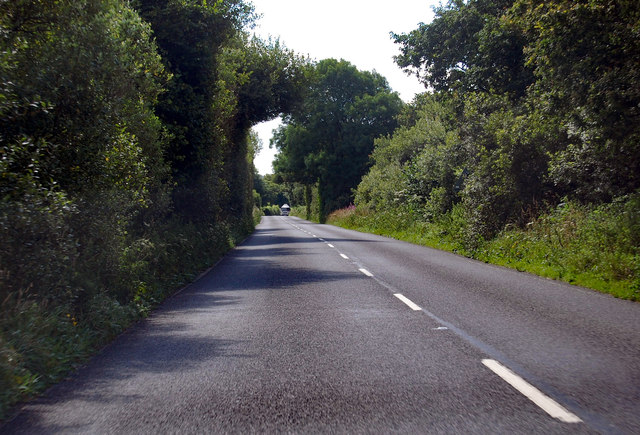 A3124 near Hollocombe Moor