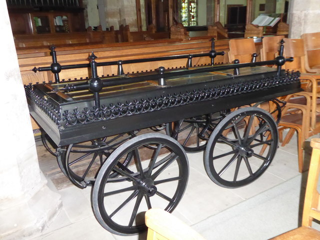 St Mary, Ticehurst: funeral cart