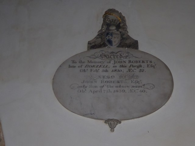 St Mary, Ticehurst: memorial (13)