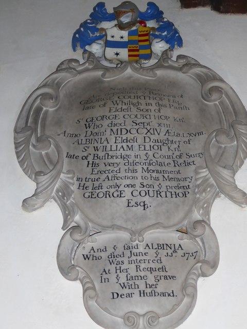 St Mary, Ticehurst: memorial (15)