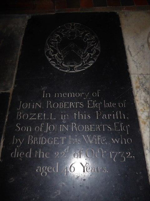 St Mary, Ticehurst: ledger slab (5)