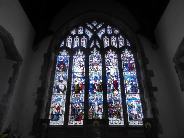 St Mary, Ticehurst: stained glass window (5)