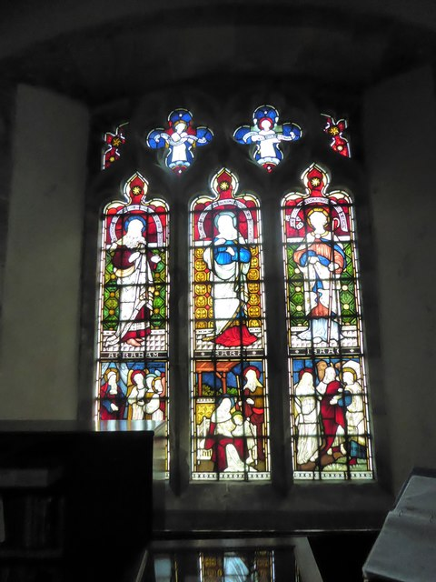 St Mary, Ticehurst: stained glass window (7)