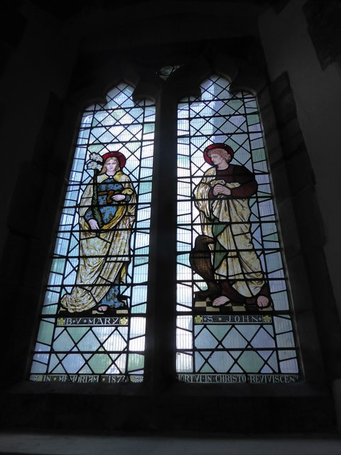 St Mary, Ticehurst: stained glass window (8)
