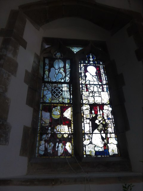 St Mary, Ticehurst: stained glass window (10)