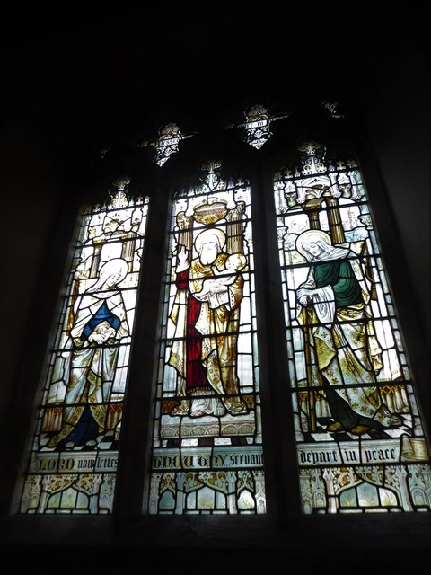 St Mary, Ticehurst: stained glass window ()