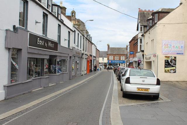 Castle Street, Stranraer
