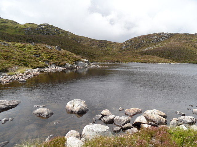 South shore of Lochan a' Chait
