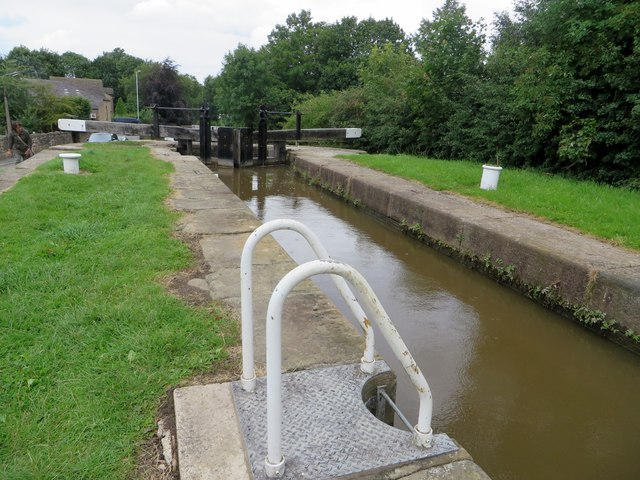Lock on the Peak Forest Canal
