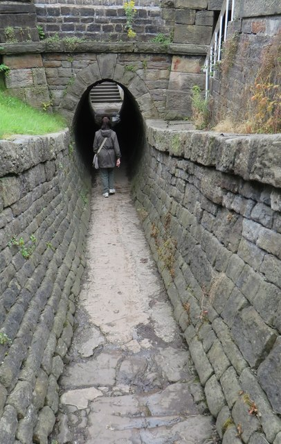 The horse tunnel